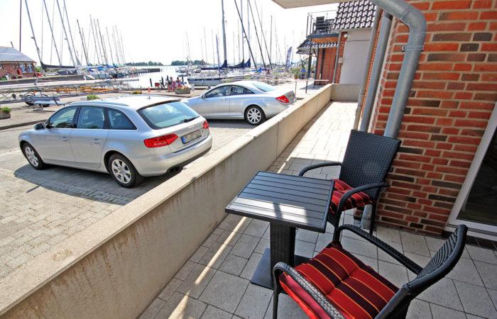 Duo Apt. Terrasse am Hafen