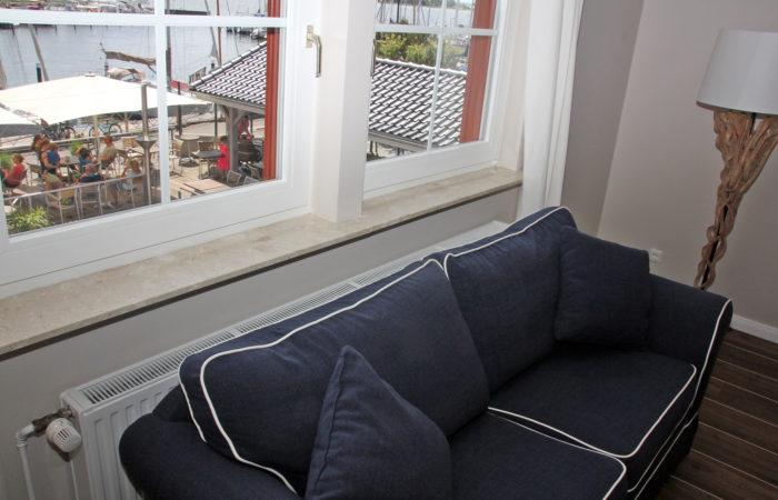Meerblick Maisonette Apt. 2-Etagen-Apt. Wohnraum